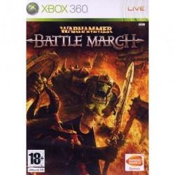 X360 WARHAMMER BATTLE MARCH - Jeux Xbox 360 au prix de 6,95€