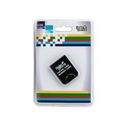 CARTE MEMOIRE GAMECUBE NOIRE 16 MB 251 BLOCS - Accessoires GameCube au prix de 6,95€