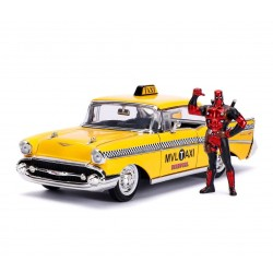 REPLIQUE YELLOW TAXI DEADPOOL 1:24 - Figurines au prix de 29,95 €