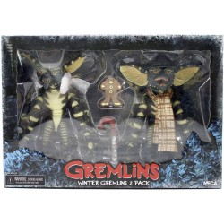 PACK 2 FIGURINES 15CM GREMLINS CHRISTMAS CAROL WINTER - Figurines au prix de 54,95 €