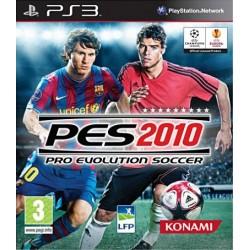 PS3 PES 2010 - Jeux PS3 au prix de 0,95€