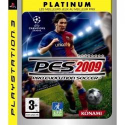 PS3 PES 2009 (PLATINUM) - Jeux PS3 au prix de 2,95€