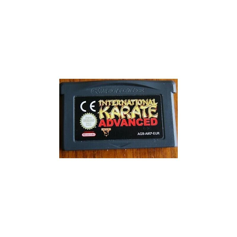 GA INTERNATIONAL KARATE ADVANCED (LOOSE) - Jeux Game Boy Advance au prix de 2,95€