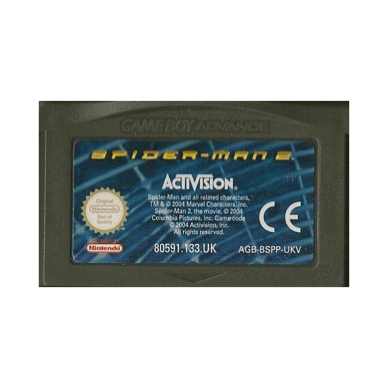 GA SPIDERMAN 2 (LOOSE) - Jeux Game Boy Advance au prix de 2,95€
