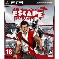 PS3 ESCAPE DEAD ISLAND - Jeux PS3 au prix de 4,95€