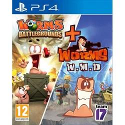 PS4 WORMS BATTLEGROUNDS + WORMS WMD - Jeux PS4 au prix de 24,95€