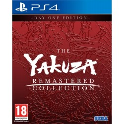 PS4 THE YAKUZA REMASTERED COLLECTION - Accessoires PS4 au prix de 54,95€