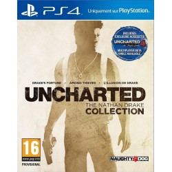 PS4 UNCHARTED THE NATHAN DRAKE COLLECTION - Jeux PS4 au prix de 19,95 €