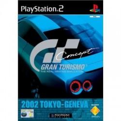 PS2 GRAN TURISMO CONCEPT 2002 - Jeux PS2 au prix de 1,95€