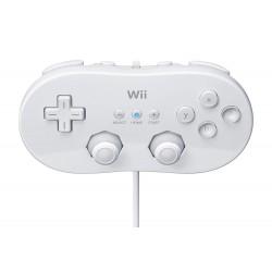 MANETTE WII CLASSIQUE BLANCHE - Accessoires Wii au prix de 12,95€