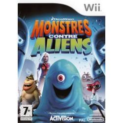 WII MONSTRES CONTRE ALIENS - Jeux Wii au prix de 7,95€