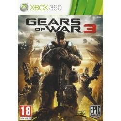 X360 GEARS OF WAR 3 - Jeux Xbox 360 au prix de 4,95€
