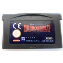 GA THE INCREDIBLES RISE OF THE UNDERMINER (LOOSE) - Jeux Game Boy Advance au prix de 3,95 €