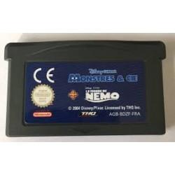 GA MONSTRES ET CIE +LE MONDE DE NEMO (LOOSE) - Jeux Game Boy Advance au prix de 4,95€