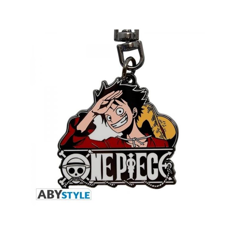 PORTE CLES ONE PIECE LUFFY NEW WORLD (METAL) - Porte Clés au prix de 6,95€