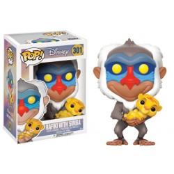 POP DISNEY ROI LION 301 RAFIKI - Figurines POP au prix de 14,95€