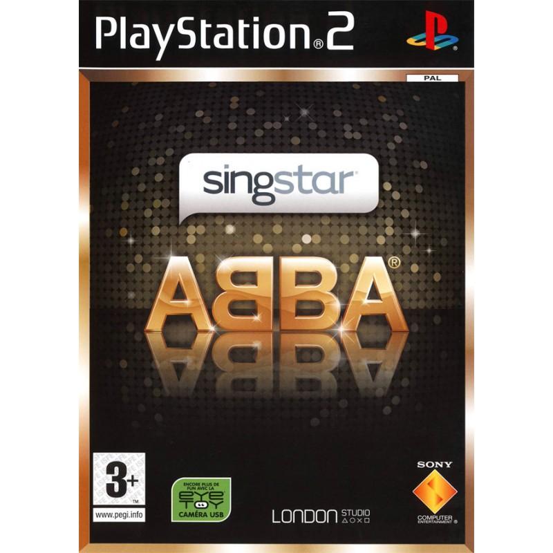 PS2 SINGSTAR ABBA - Jeux PS2 au prix de 1,95€