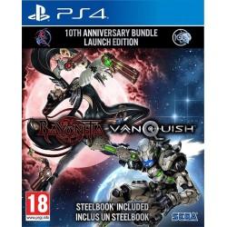 PS4 BAYONETTA VANQUISH 10TH ANNIVERSARY BUNDLE - Jeux PS4 au prix de 39,95€