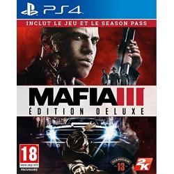 PS4 MAFIA 3 EDITION DELUXE OCC - Jeux PS4 au prix de 12,95€