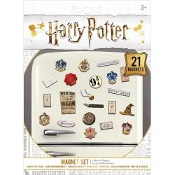 MAGNET SET HARRY POTTER 21 MAGNETS - Autres Goodies au prix de 5,95€