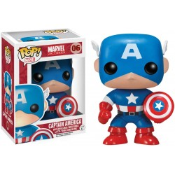 POP MARVEL 06 CAPTAIN AMERICA - Figurines POP au prix de 14,95€