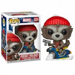 POP MARVEL 531 ROCKET NOEL - Figurines POP au prix de 14,95€