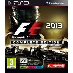 PS3 F1 2013 COMPLETE EDITION - Jeux PS3 au prix de 6,95€