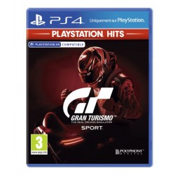 PS4 GRAN TURISMO SPORT HITS - Jeux PS4 au prix de 19,95€