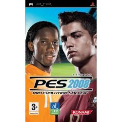 PSP PES 2008 - Jeux PSP au prix de 1,95€