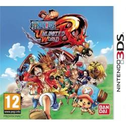 3DS ONE PIECE UNLIMITED WORLD RED - Jeux 3DS au prix de 14,95€