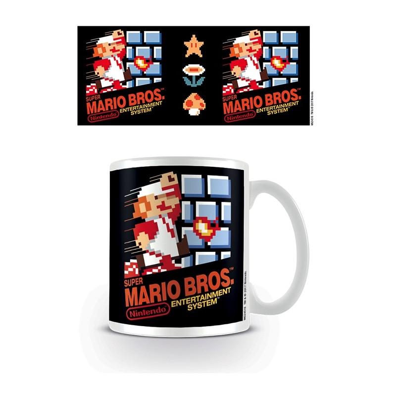 MUG MARIO SUPER MARIO NES COVER 315ML - Mugs au prix de 9,95€
