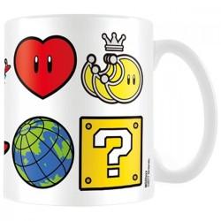 MUG SUPER MARIO ODYSSEY ICONS 315ML - Mugs au prix de 9,95€