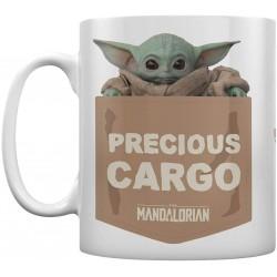 MUG STAR WARS MANDALORIAN PRECIOUS CARGO BABY YODA 315ML - Mugs au prix de 9,95€