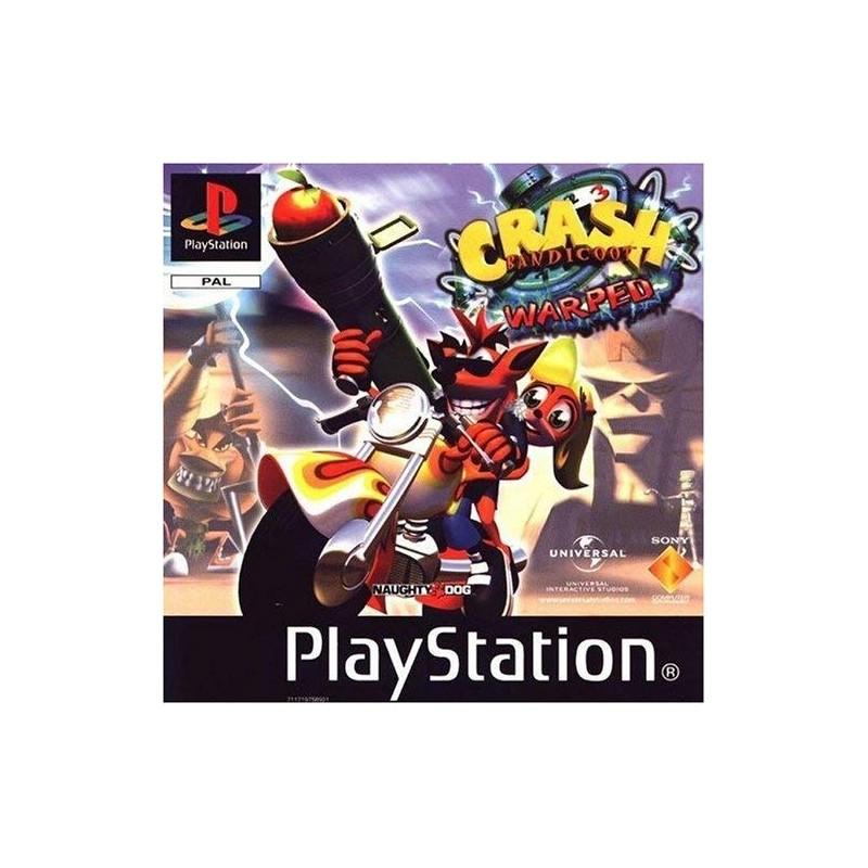 PSX CRASH BANDICOOT 3 WARPED - Jeux PS1 au prix de 19,95€