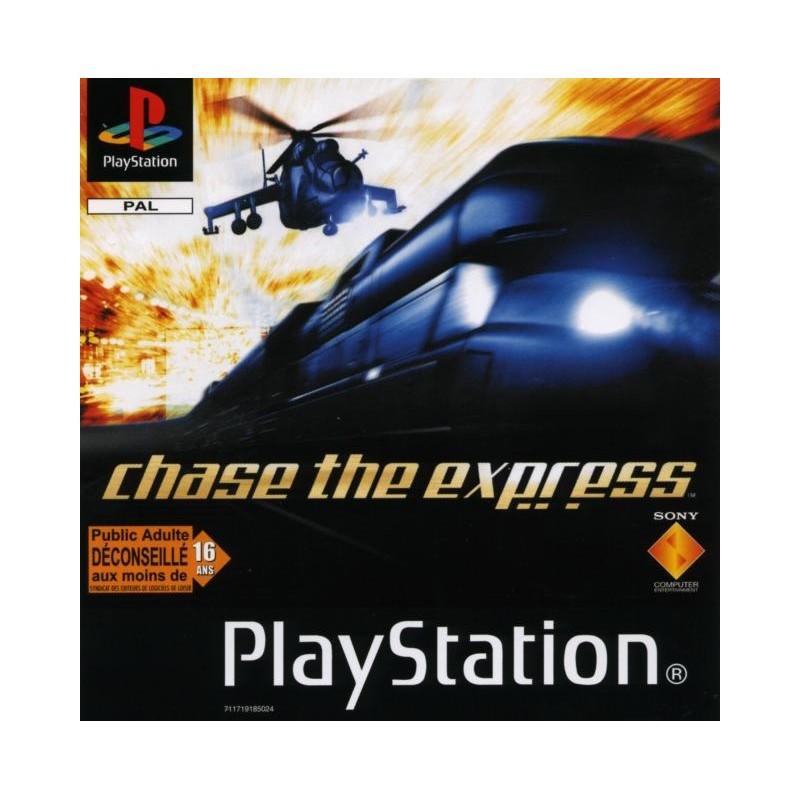 PSX CHASE EXPRESS - Jeux PS1 au prix de 2,95€
