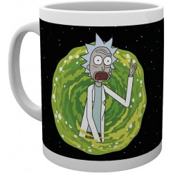 MUG RICK AND MORTY YOUR OPINION 300ML - Mugs au prix de 9,95 €