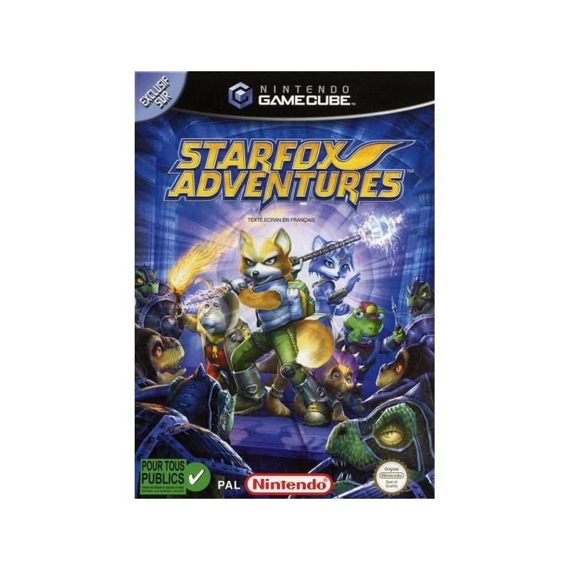 GC STARFOX ADVENTURES - Jeux GameCube au prix de 19,95€