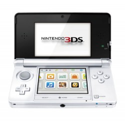 CONSOLE 3DS BLANCHE - Consoles 3DS au prix de 69,95€