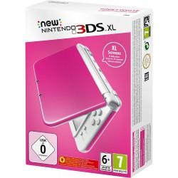 CONSOLE NEW 3DS XL ROSE BLANCHE - Consoles 3DS au prix de 119,95€