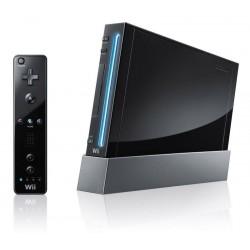 CONSOLE WII NOIRE - Consoles Wii au prix de 44,95€