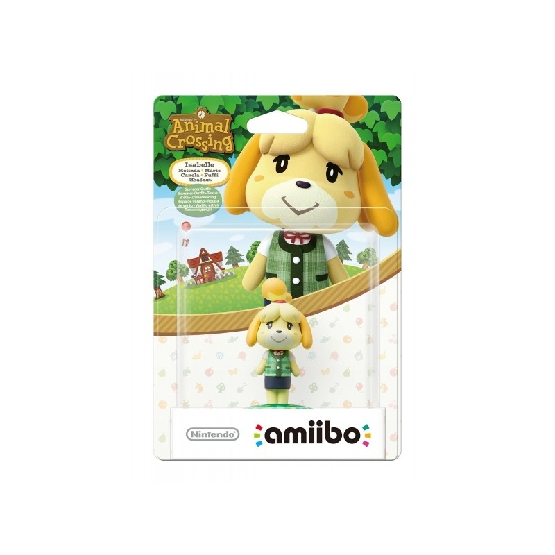 AMIIBO ANIMAL CROSSING ISABELLE SUMMER - Figurines NFC au prix de 19,95 €