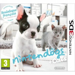 3DS NINTENDOGS ET CATS BOULEDOGUE - Jeux 3DS au prix de 12,95€