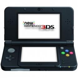 CONSOLE NEW 3DS NOIRE - Consoles 3DS au prix de 89,95€