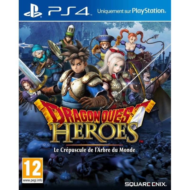 PS4 DRAGON QUEST HEROES LE CREPUSCULE DE L ARBRE DU MONDE OCC - Jeux PS4 au prix de 14,95€
