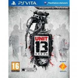PSV UNIT 13 - Jeux PS Vita au prix de 14,95€