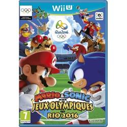 WIU MARIO ET SONIC AUX JEUX OLYMPIQUES DE RIO 2016 - Jeux Wii U au prix de 19,95€
