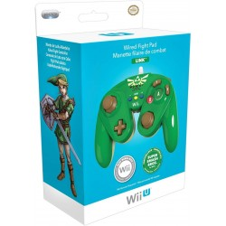 MANETTE FILAIRE WII U ZELDA LINK - Accessoires Wii U au prix de 29,95€