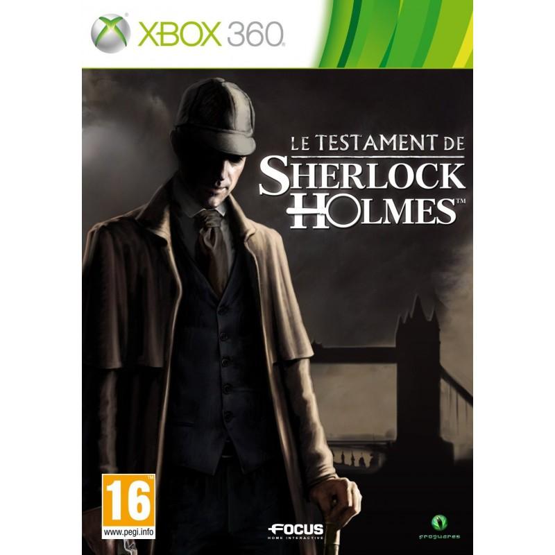 X360 LE TESTAMENT DE SHERLOCK HOLMES - Jeux Xbox 360 au prix de 19,95€