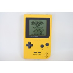 CONSOLE GAMEBOY POCKET JAUNE - Consoles Game Boy au prix de 29,95€