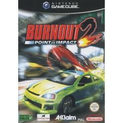 GC BURNOUT 2 POINT OF IMPACT - Jeux GameCube au prix de 9,95€